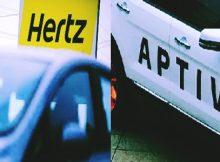 aptiv hertz tie roll av mobility