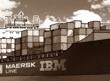 ibm maersk deploy blockchain solutions