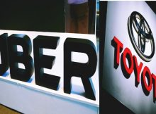 toyota uber jointly develop self driving cars