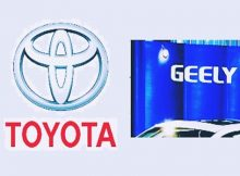 toyota geely focus petrol electric hybrid technology