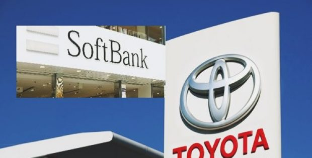 toyota softbank launch data based mobility services