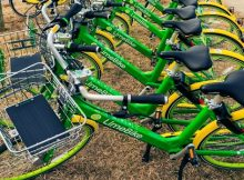 Bike sharing startup Lime