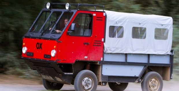 Shell India introduces all-terrain truck OX for people in remote areas