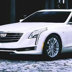 Cadillac electric vehicle