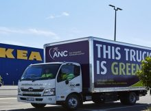 ANC introduces new 100% EVs to NSW home delivery market
